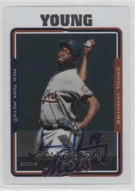 2005 Topps Retired Signature Edition - Autographs #TA-AY - Anthony Young