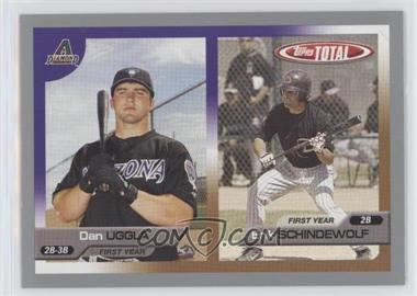 2005 Topps Total - [Base] - Silver #723 - Dan Uggla, Erik Schindewolf