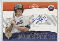 Signature Prospects - Philip Humber [Noted] #/125