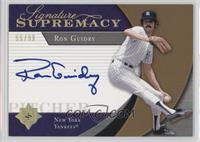 Ron Guidry /99