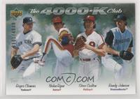 Nolan Ryan, Randy Johnson, Steve Carlton, Roger Clemens #/4,000