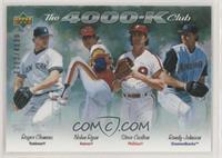 Nolan Ryan, Randy Johnson, Steve Carlton, Roger Clemens #/4,000