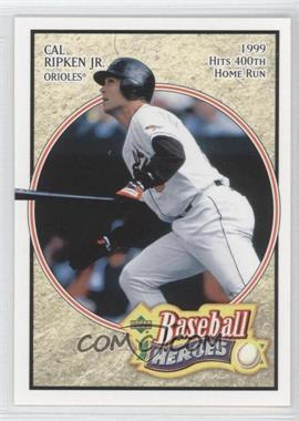 2005 Upper Deck Baseball Heroes - [Base] #13 - Cal Ripken Jr.