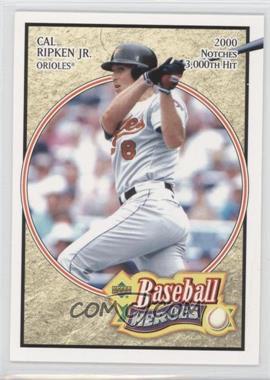 2005 Upper Deck Baseball Heroes - [Base] #14 - Cal Ripken Jr.