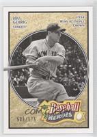 Lou Gehrig #/575