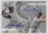Jim Rice, Fred Lynn