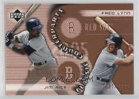 Jim Rice, Fred Lynn /1999