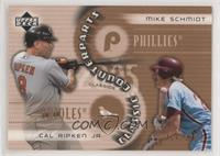Cal Ripken Jr., Mike Schmidt #/1,999