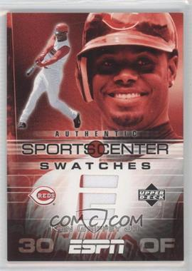 e5dec0bbe3 2005 Upper Deck ESPN - Sportscenter Swatches #GU-KG - Ken Griffey Jr.