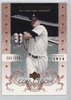 Mickey Mantle /550