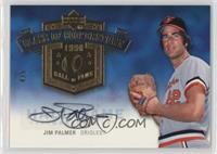 Jim Palmer Autographed Hall Of Fame Baseball Cards Matching