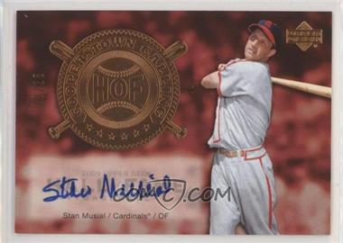 2005 Upper Deck Hall of Fame - Cooperstown Calling - Autographs [Autographed] #CO-SM2 - Stan Musial /25