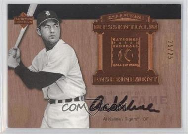 2005 Upper Deck Hall of Fame - Essential Enshrinement - Autographs [Autographed] #EE-AK1 - Al Kaline /25