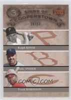 Duke Snider, Frank Robinson, Ralph Kiner /50