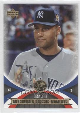 2005 Upper Deck Mini Jersey Collection - [Base] #87 - Derek Jeter