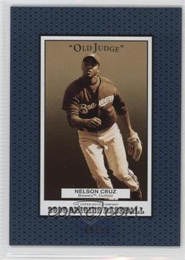 2005 Upper Deck Origins - Old Judge - Blue #257 - Nelson Cruz /50