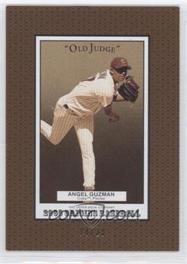 2005 Upper Deck Origins - Old Judge - Gold #176 - Angel Guzman /20