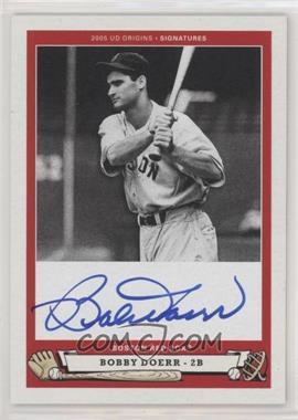 2005 Upper Deck Origins - Signatures #BD1 - Bobby Doerr