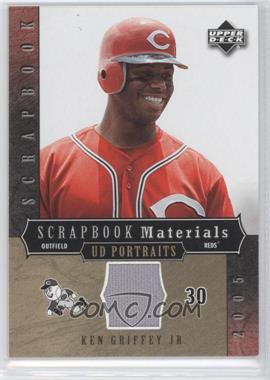 2005 Upper Deck Portraits - Scrapbook Materials #SM-KG - Ken Griffey