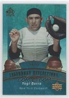 Yogi Berra Hall Of Fame Serial Numbered Baseball Cards