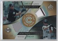 Mike Lowell, Miguel Cabrera #/225