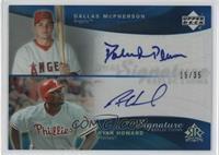 Dallas McPherson, Ryan Howard #/35