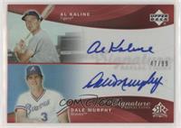 Dale Murphy, Al Kaline #/99