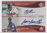 Charles Thomas, Jose Capellan #/99
