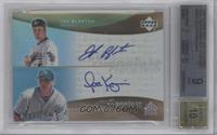 Joe Blanton, Scott Kazmir [BGS 9]