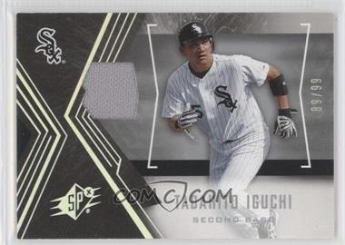 2005 Upper Deck SP Collection - SPx - Silver Parallel Materials [Memorabilia] #93 - Tadahito Iguchi /99