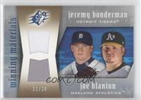 Joe Blanton, Jeremy Bonderman #/20
