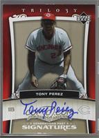 Tony Perez [Noted] #/10