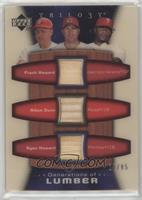 Adam Dunn, Ryan Howard, Frank Howard /85