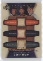 Cal Ripken Jr., Derek Jeter, Bobby Crosby /85