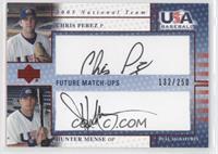 Chris Perez, Hunter Mense /250