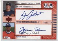 Shawn Tolleson, Tyson Ross #/100