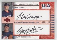 Max Sapp, Shawn Tolleson #/250