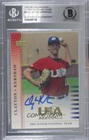 Clayton Kershaw [BAS Certified BGS Encased]