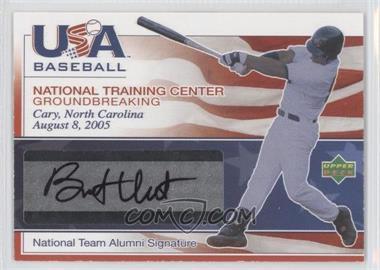 2005 Upper Deck Usa Baseball National Training Center