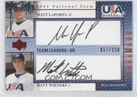 Matt Wieters, Matt LaPorta /250