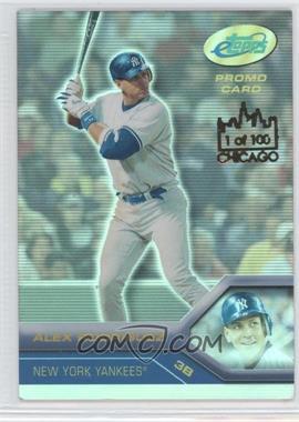 2005 eTopps - [Base] - Chicago #AR3 - Alex Rodriguez /100