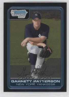2006 Bowman Chrome - Prospects #BC133 - Garrett Patterson