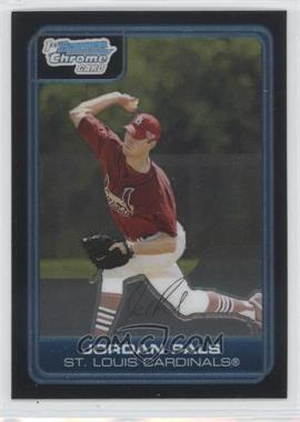 2006 Bowman Chrome - Prospects #BC150 - Jordan Pals