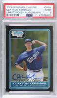 Clayton Kershaw [PSA 9 MINT]