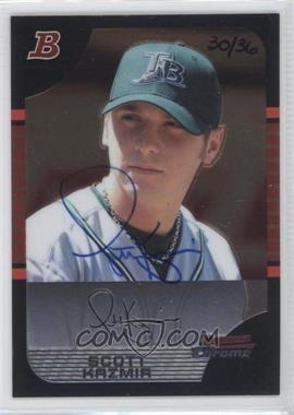 2006 Bowman Originals - Buyback Autographs #24.2 - Scott Kazmir (2005 Bowman Chrome) /36