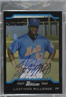 Lastings Milledge (2004 Bowman) [Buy Back] #/166