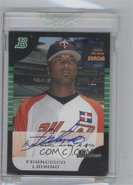 2006 Bowman Originals - Buyback Autographs #BDP121.1 - Francisco Liriano (2005 Bowman Draft) /350