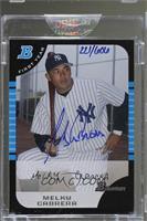 Melky Cabrera (2005 Bowman Draft) [BuyBack] #/606