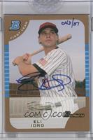 Eli Iorg (2005 Bowman Draft Gold) /151