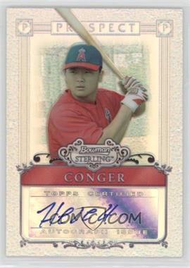 2006 Bowman Sterling - [Base] - Refractor Certified Autograph [Autographed] #BSP-HC - Hank Conger /199